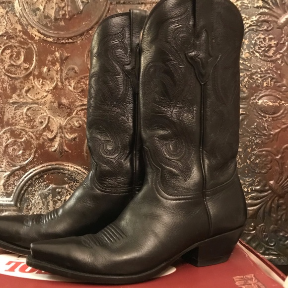c126382627a Gorgeous Lucchese Resistol Ranch Cowboy Boots